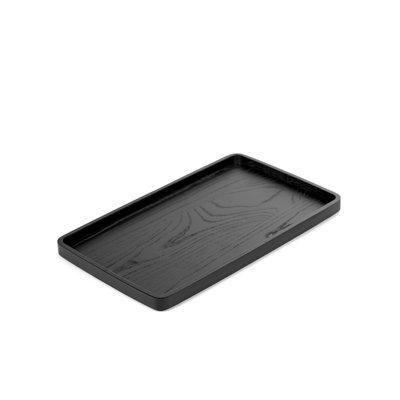 Serax  Dienblad zwart hout rechthoekig VVD, 45 x 27 cm