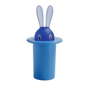 Alessi Magic Bunny Tandenstokerhouder blauw