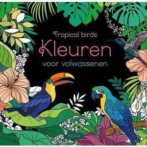Deltas Tropical birds Kleuren voor Volwassenen