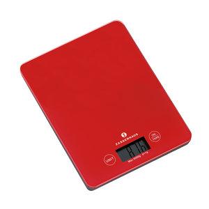 Zassenhaus Digitale keukenweegschaal rood