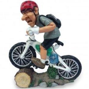 Les Alpes Beeld Mountainbiker