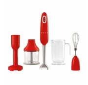 Smeg Staafmixer Rood - Inclusief Accessoires