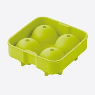 Point-Virgule IJsballenvorm Siliconen Groen 4.5 cm