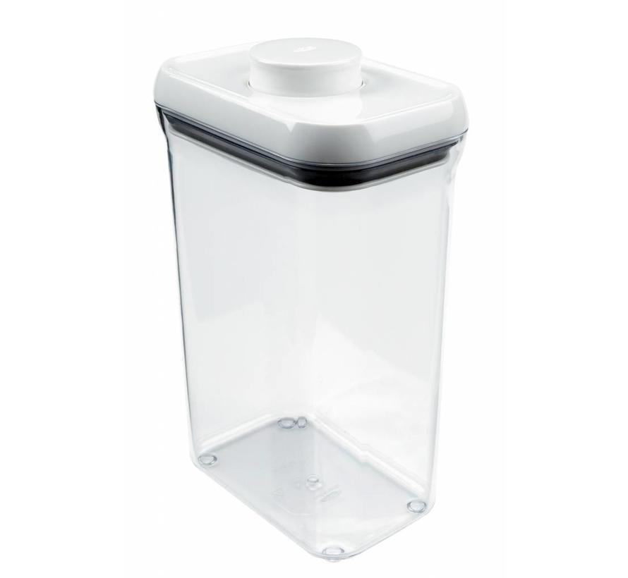 Voorraadbus 'POP' Rechthoekig 2.3 Liter
