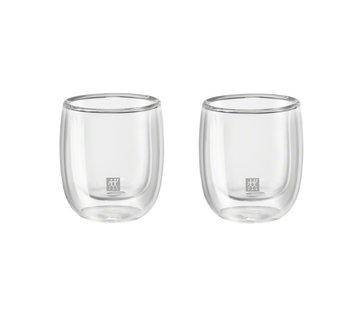 Zwilling Sorrento Dubbelwandig Glas Espresso - set met 2-stuks