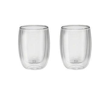 Zwilling Sorrento Dubbelwandig Glas Koffie - set met 2 stuks