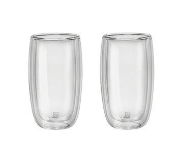 Zwilling Sorrento Dubbelwandig Glas Latte Macchiato - set met 2 stuks