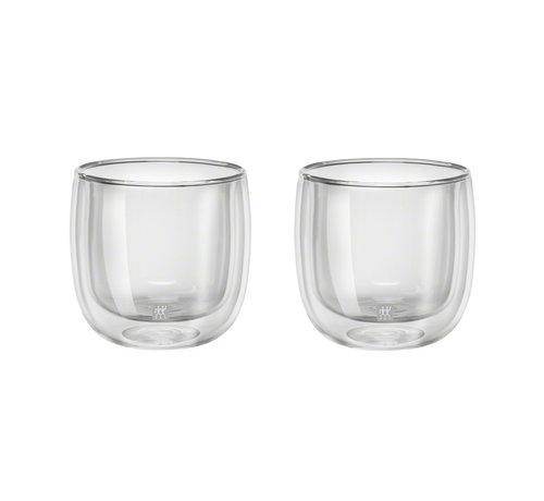 Zwilling Sorrento Dubbelwandig Glas Thee - set met 2 stuks
