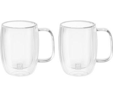 Zwilling Sorrento Dubbelwandig Glas met Greep Espresso - set met 2 stuks