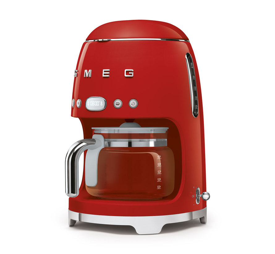 Filterkoffiemachine Rood