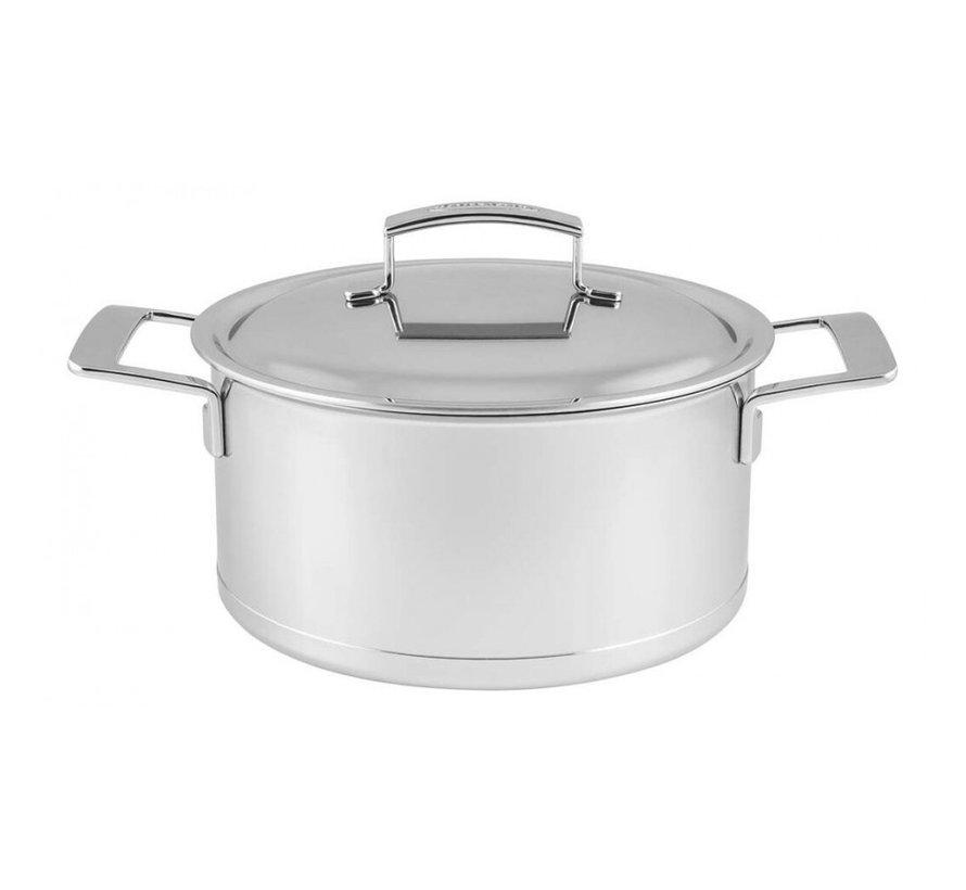 Silver Kookpan met Deksel 20 cm