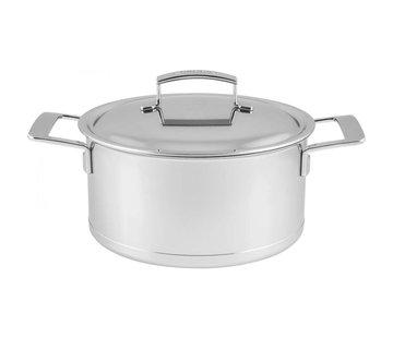 Demeyere Silver Kookpan met Deksel 24 cm