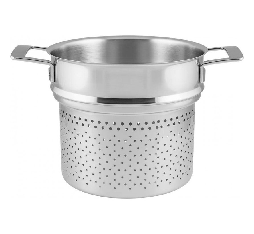 Silver Pasta-Inzet 24 cm