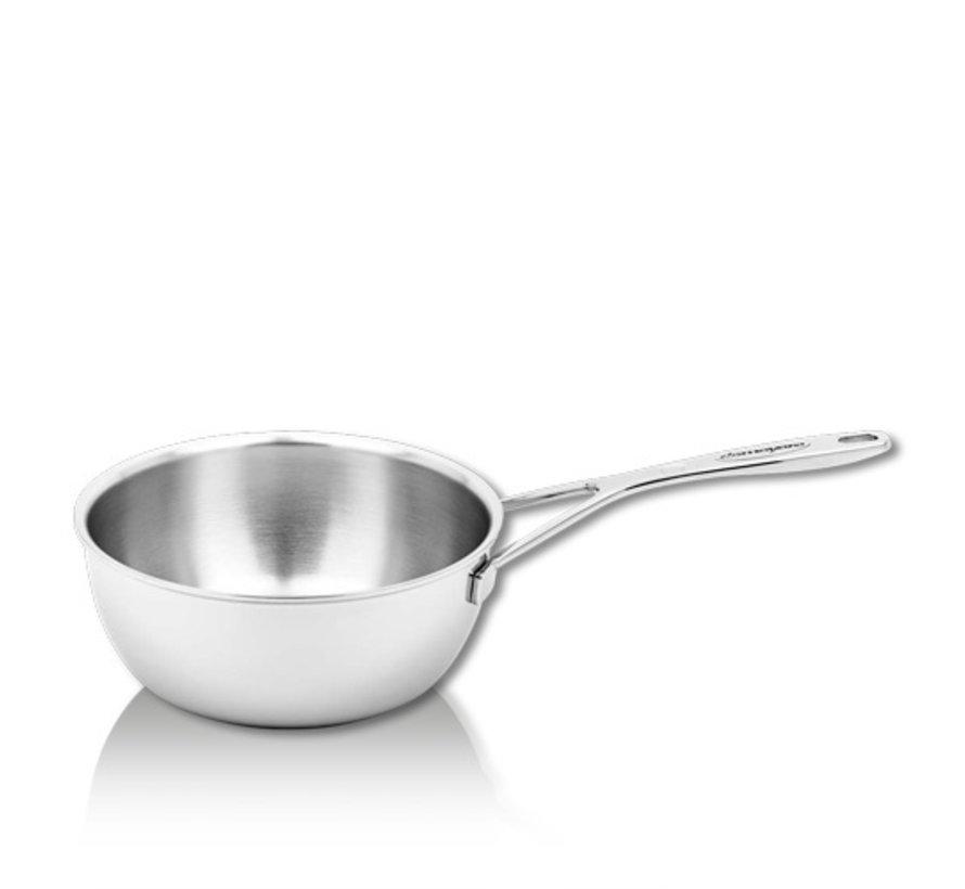 Silver Conische Sauteuse 18 cm