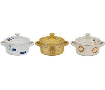Le Creuset Star Wars Droid Set Mini Braadpan 10 cm - set met 3 stuks