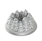 Nordic Ware New Pine Forest Bundt Silver 9-cup