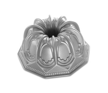 Nordic Ware Vaulted Cathedral Bundt Pan Silver 9-cup