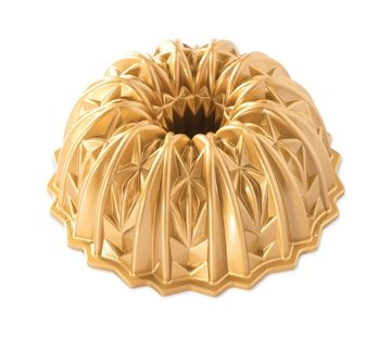 Nordic Ware Cut Crystal Bundt Pan Gold 10-cup