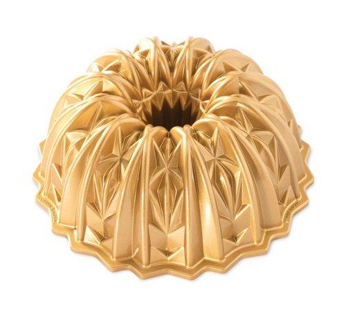 Nordic Ware Cut Crystal Bundt Pan Gold 10-cup