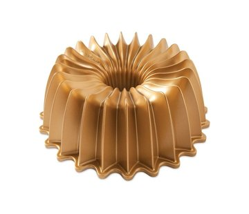 Nordic Ware Brilliance Bundt Pan Gold 10-cup
