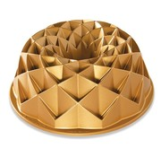 Nordic Ware Jubilee Bundt Pan Gold 10-cup