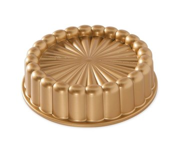 Nordic Ware Charlotte Cake Pan Gold 6-cup