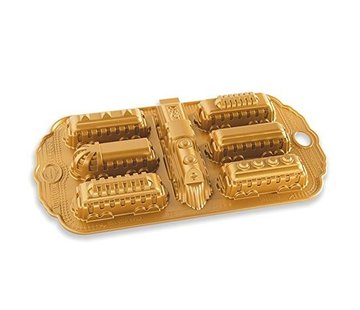 Nordic Ware Nordic Express Cakelet Pan Gold 5-cup
