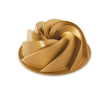 Nordic Ware Heritage Bundt Pan Gold 6-cup