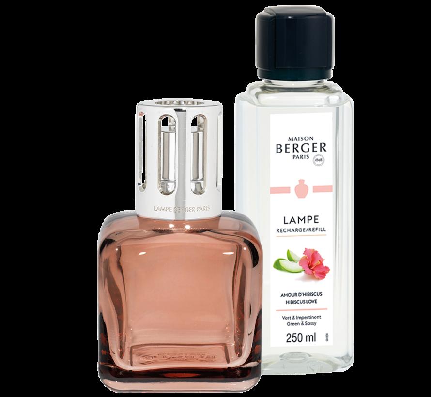 Giftset Geurbrander Glacon Rose - Hibiscus Love 250 ml