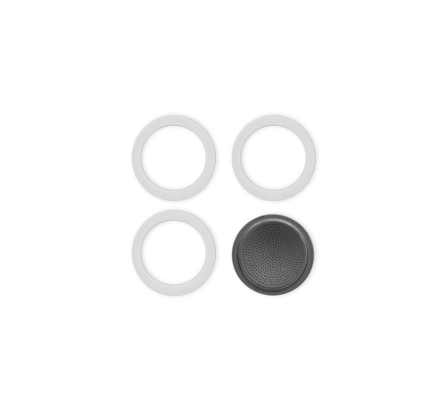 Bialetti Blister 3 Gasket Filterplaatje 2-kops