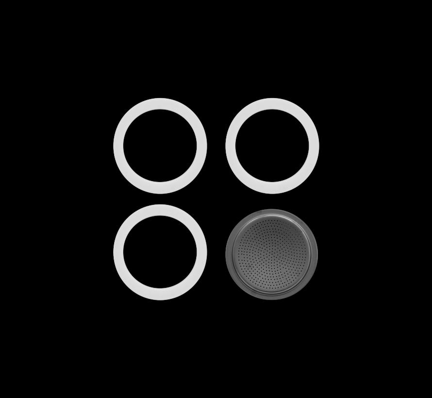 Blister 3 Gasket Filterplaatje 3&4-kops