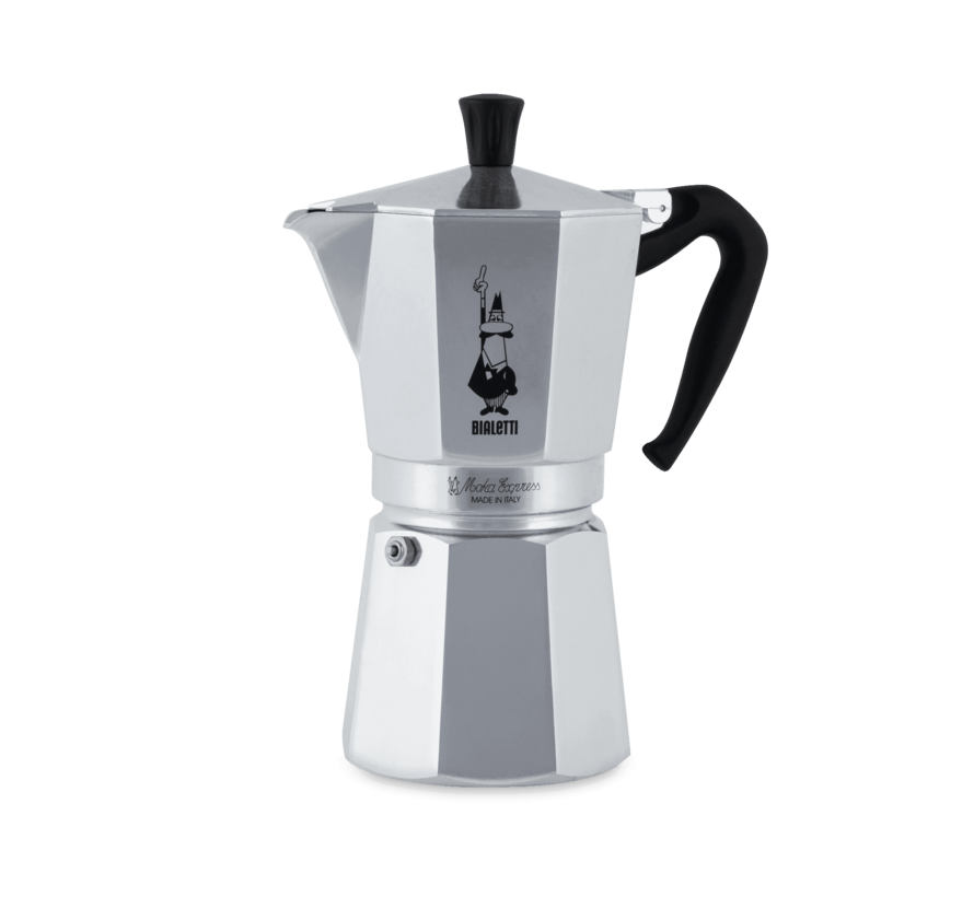 Moka Express Percolator 12-kops