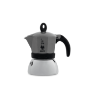 Bialetti Moka Induction Antraciet Percolator 6-kops
