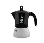 Bialetti Moka Induction Zwart Percolator 6-kops