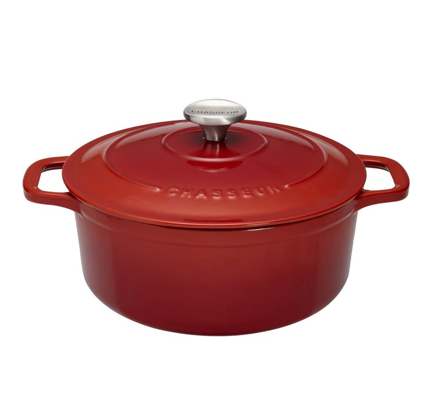 Braadpan Rubis Rood 24 cm