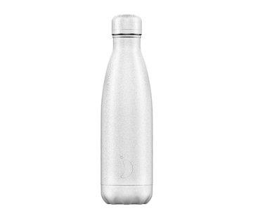 Chilly's Bottle White Glitter 500 ml