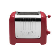 Dualit Broodrooster Lite Gloss 2-slots Rood
