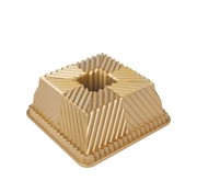 Nordic Ware Bundt Squared Pan Gold 10-cup
