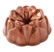 Nordic Ware Magnolia Bundt Pan Copper 10-cup