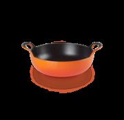 Le Creuset Balti-Dish Wokpan Oranje-Rood 24 cm