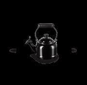 Le Creuset Demi Fluitketel Ebbenzwart 1.1 Liter