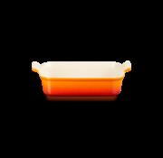 Le Creuset Ovenschaal Oranje-Rood 26x19 cm