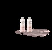 Le Creuset Set Peper- en Zoutmolen Shell Pink 11 cm