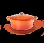 Le Creuset Signature Ronde Braadpan Oranje-Rood 20 cm