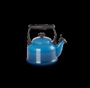 Le Creuset Tradition Fluitketel Marseille Blauw 2.1 Liter