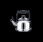 Le Creuset Tradition Fluitketel RVS 2.1 Liter