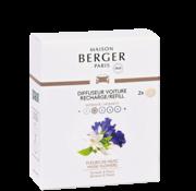 Maison Berger Paris Navulling Auto Parfum Musk Flowers - 2 stuks