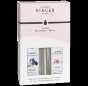 Maison Berger Paris Parfum Duopack 2 x 250 ml - Musk Flowers & Paris Chic