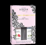 Maison Berger Paris Parfum Duopack 2 x 250 ml - Hibiscus Love & Delicate White Musk