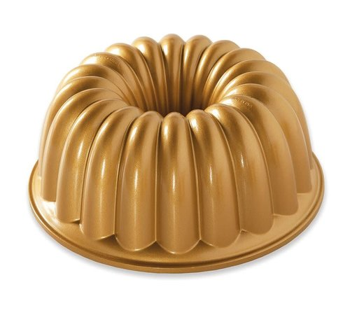 Nordic Ware Elegant Party Bundt Pan Gold 10-cup
